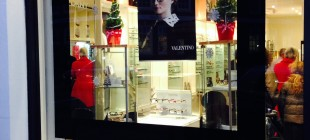 Our new Christmas window…