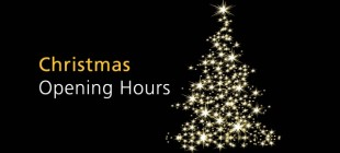 Christmas Opening Times 2013/14